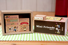 Set of 8 Pcs Litte Prince Wood Rubber Stamp Scrapbook Diary
