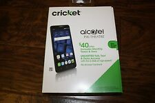 "BRAND NEW Cricket Wireless Alcatel PIXI THEATRE 6"" Screen 4G LTE Prepaid Phone"