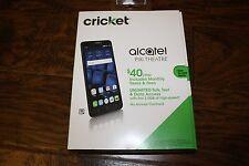 "BRAND NEW Cricket Wireless Alcatel PIXI THEATRE 6"" Screen 4G LTE Prepaid Phone"