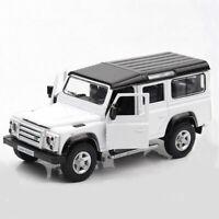 Land Rover Defender 1:36 Die Cast Modellauto Spielzeugauto Sammler Weiß