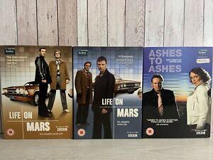Life on Mars Series 1 & 2 & Ashes to Ashes Season 1  ~ BBC Drama