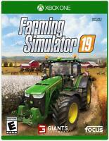 Farming Simulator 19 Xbox 1 One & FACTORY SEALED Farm Sim 2019 xb1