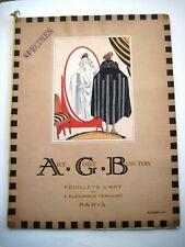 "Stunning Art Deco Sept.1921 Parisian Fashion Magazine Titled ""Art Cout Beaute"" *"
