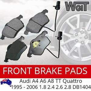 Front Brake Pads For AUDI A4 A6 A8 TT Quattro 1995 - 2006 1.8 2.4 2.6 2.8