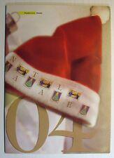 "2004  Italia  Folder  "" Natale 2004 ""   perfetto"