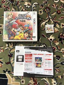 Super Smash Bros. 3DS PEGI 12+ FREE P&P