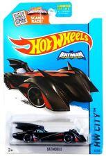 2015 Hot Wheels HW City 63/250 Batman Brave and Bold Batmobile Black w Red Trim!