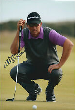 Retief GOOSEN SIGNED Autograph 12x8 Photo AFTAL COA South African Golf RARE