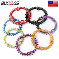 BUCKLOS 104BCD Chain Ring 30-42T MTB Bike Narrow Wide Single Round Chainring Alu