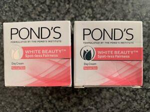 2x Ponds White Beauty Spot-Less Fairness Day Cream Normal Skin 12g