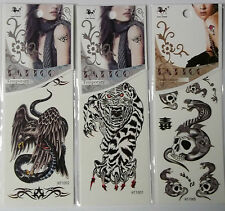 Assorted Temporary Tattoos  Your Choice  Free Shipping  NIP