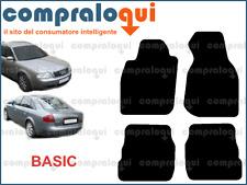TAPPETINI AUTO per AUDI A6 C5 97-04 MOQUETTE NERA GRIGIA ANTRACITE MODELLO BASIC