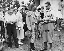 BOBBY JONES & FRANCIS OUIMET 1931 PGA GOLF 8X10 PHOTO