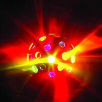 PARTY-LICHT-EFFEKT DISCO-LICHT DJ-LIGHT-EFFECT MOONFLOWER-STRAHLER DISKO-KUGEL