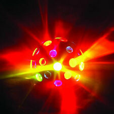 PARTY-luce-EFFETTO DISCOTECA-LUCE DJ-LIGHT-Effect MOONFLOWER-FARETTO DISCOTECA SFERA -