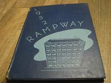 Rampway 1952 Atlanta Division University Of Georgea yearbook