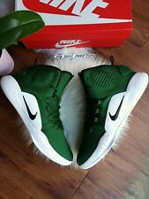 SIZE 15 MEN'S Nike HYPERDUNK X TB HIGH GREEN WHITE BLACK Basketball AR0467 300