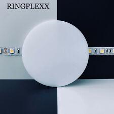 Acrylglas PMMA Weiß Opal 3mm Ø50mm-190mm Deckel rund Ronde Scheibe LED Plexi +