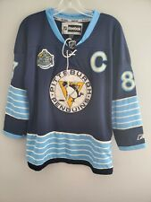 Reebok 2011 Winter Classic Pittsburgh Penguins Sidney Crosby Jersey Youth L XL