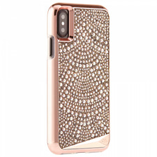 Case-Mate Brilliance Samsung Galaxy S8 Rose Gold Genuine Crystals Tough 2 Part
