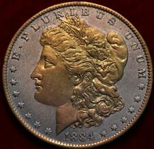 1884-O New Orleans Mint Gold Plated Morgan Dollar