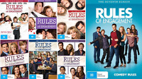 Rules Of Engagement COMPLETE Series : Season 1 - 7 : NEW DVD