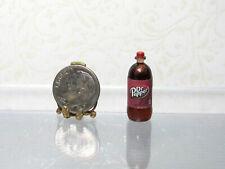Dollhouse Miniature Plastic 7 UP Soda Bottle