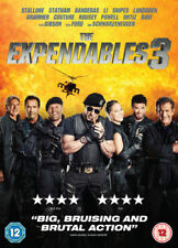 "The Expendables 3 [DVD-2014, 1 Disc) Region 2.""BIG, BRUISING AND BRUTAL ACTION""*"