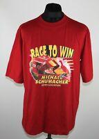 Vintage Ferrari team Michael Schumacher Racing Formula 1 BNWT shirt Size XL