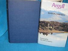 Argyll ~ The Enduring Heartland by Marion CAMPBELL HbDj Kilchurn Castle Scotland
