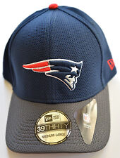 NEW ENGLAND N E PATRIOTS 39 THIRTY TECH HAT CAP BY NEW ERA SIZE MEDIUM - LARGE