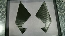 Lexus RX330 carbon fiber rear view mirror's pillars