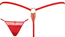 NEW / Intimissimi bijou jewel red g-string  / one size