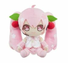 Sakura Miku Plush Doll 2020 Ver. Cherry Blossoms Pink Cute Kawaii 7 Inches NEW