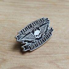 Willie G Skull Wings Vest / Hat / Jacket Pin For Harley Davidson Owner