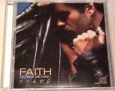 """GEORGE MICHAEL """"FAITH"""" CD 1987 columbia bonus tracks"""