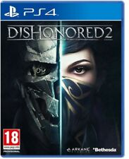 VIDEOGIOCO DISHONORED 2 PS4 GIOCO PLAYSTATION 4 ITALIANO SIGILLATO DISONORED