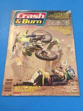 Crash & Burn Dirt Bike Motorcycle Magazine June 1991 Dirt Wheels 3Wheeling ATC