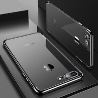 For Samsung Galaxy J4 2018  Black Slim Protective Shockproof Clear Case Cover