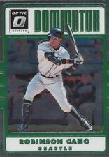 2017 DONRUSS OPTIC ROBINSON CANO 2B SEATTLE DOMINATOR #D11 SP