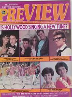 OCT 1978 PREVIEW vintage movie magazine GREASE MOVIE - BEE GEES - OSMONDS