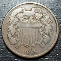1865 2 Cent Piece  --  MAKE US AN OFFER!  #O4687
