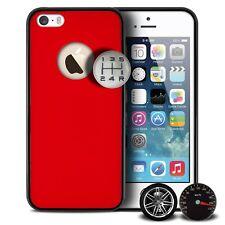 Coque Housse Etui Custom Buttons Rouge Pour iPhone 5/5S/SE