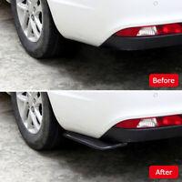 2 CAR REAR LIP BUMPER SPOILER CANARD DIFFUSER WRAP ANGLE SPLITTER ANTI-CRASH KIT