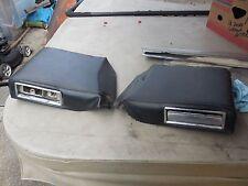 PR 1968-69 Oldsmobile Toronado Rear Arm Rests Quarter Interior Panels Black