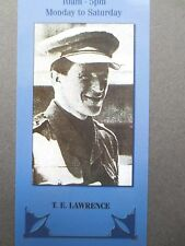 BOOKMARK T E LAWRENCE [ of Arabia ] Author Writer Photograph Wallace & Scott