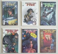 Objective Five 1 2 3 4 5 6 Complete 2000 Image Set Series Run Lot 1-6 VF/NM