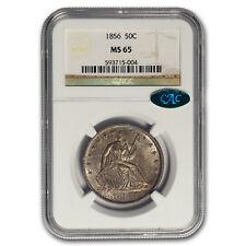 1856 Liberty Seated Half Dollar MS-65 NGC (CAC, WB-101)