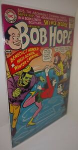 THE ADVENTURES OF BOB HOPE #97 FN+ DC 1966 Monsters At Winter Carnival Cover