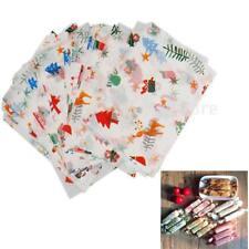 50 feuilles Noël Noël Cadeau de mariage Papier à emporter Papier à la